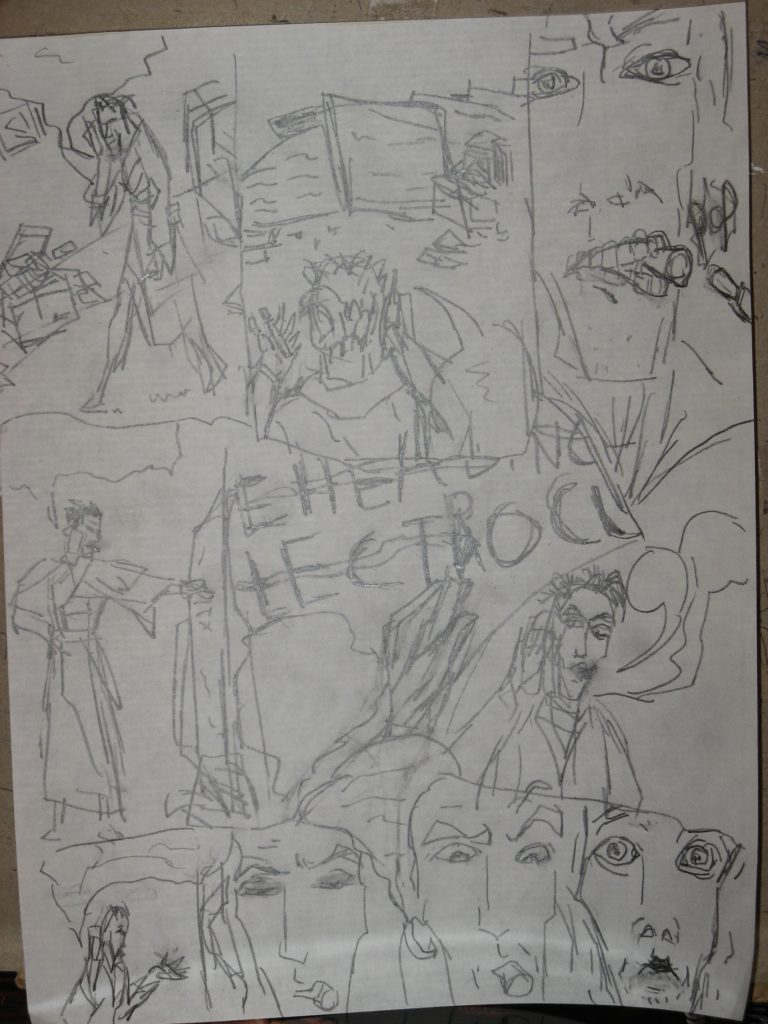 Blake Undying - Early Sketches